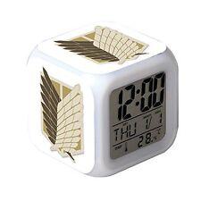 Attack on Titan Anime Glowing LED Colour Change Digital Alarm Clock