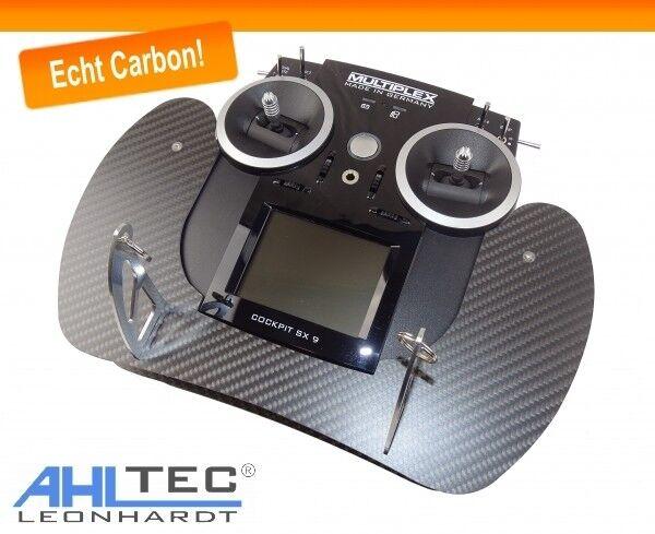 Senderpult ahltec multiplex cabina SX 9 & sx12 transmisor en de carbono real fibra