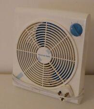 Retro 2 speed cooling fan, handy desktop table top size, good working order.