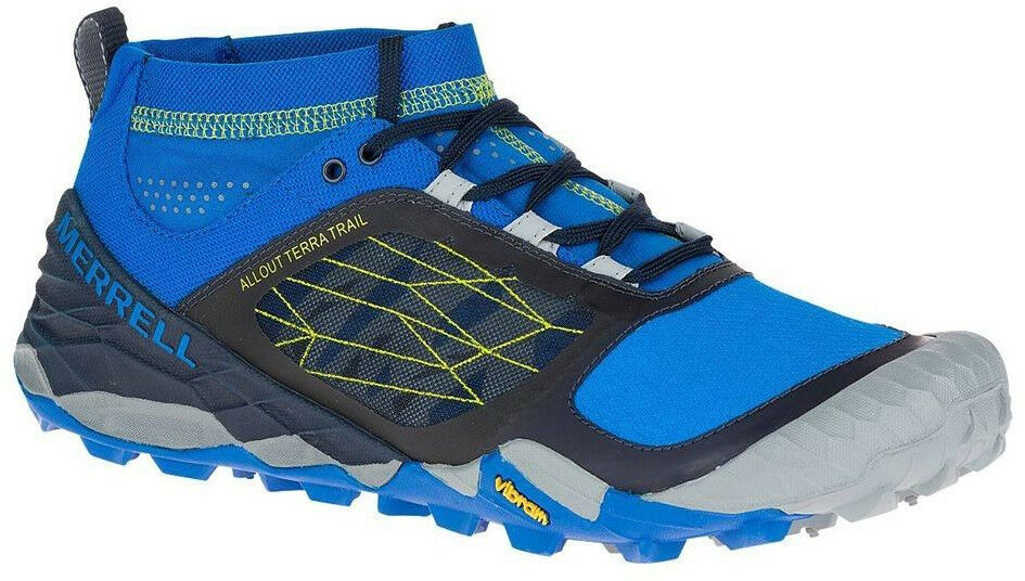 Merrell All Out Terra Mens Trail Running shoes - blueee