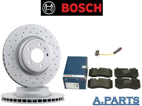 Bosch Bremsensatz perforées complètement WK avant Mercedes Classe E Classe S e500 w221