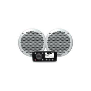 FUSION-MS-RA55KTS-Marine-SET-Radio-2x-Lautsprecher-Bluetooth-Modul-Boot-Yacht
