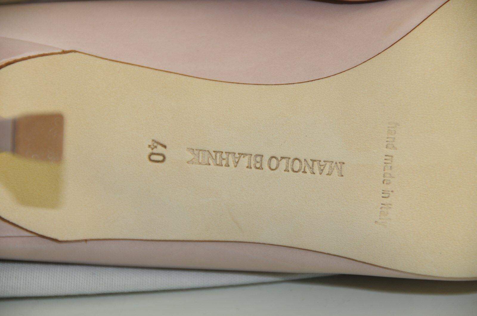 Neu Manolo Blahnik Bb 70 Fleisch Fleisch Fleisch Hautfarben PastellRosa Schuhe Absätze Pumps 40 52e22d