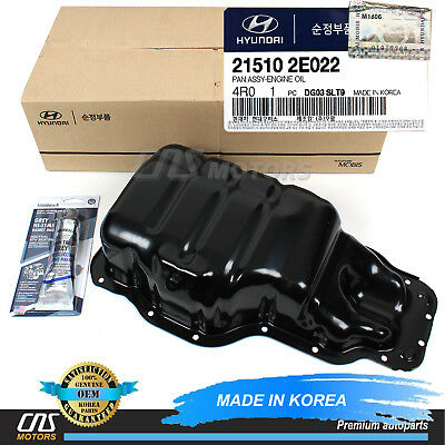 Genuine Hyundai 21510-24000 Engine Oil Pan Assembly