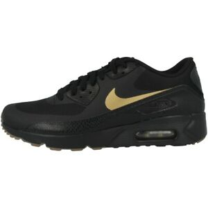 Details zu Nike Air Max 90 Ultra 2.0 Essential Schuhe Sneaker black gold gum 875695 016