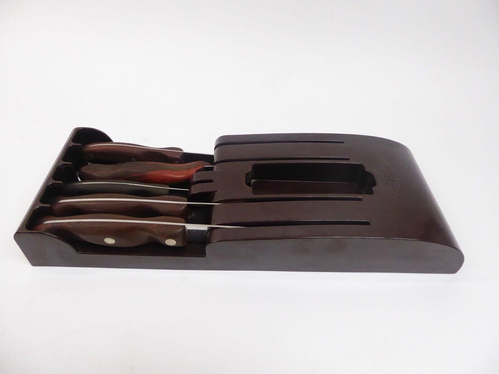 Vintage 5 Pièce cutco Knife & épandeur Set