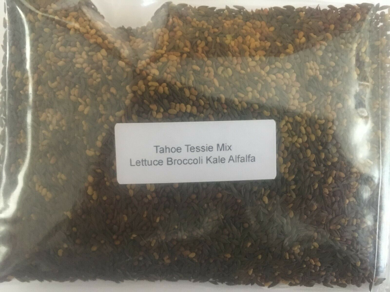 Microgreens Spicy Tahoe Tessie Mix salad sprout seeds 5 types of seeds organic