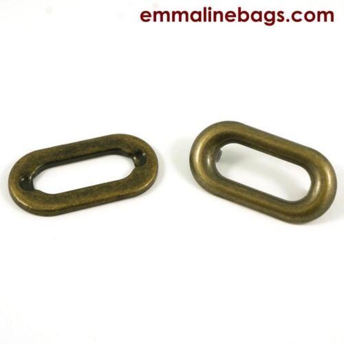 range of finishes bag making Emmaline Bags GROMMETS OBLONG 4 pack 1 inch