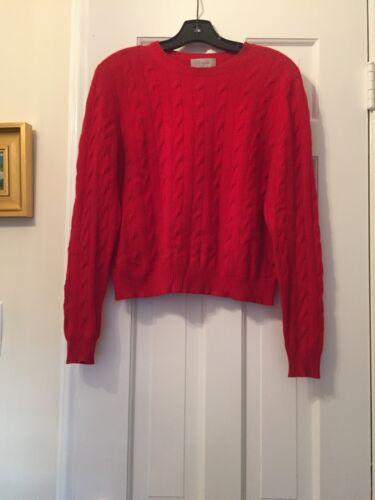 Christopher Fischer Red Cashmere Sweater
