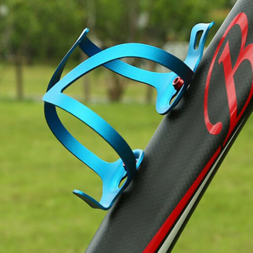Portable Bike Water Bottle Cage Bicycle Bottle Cage Holder Chic Alloy One-Side