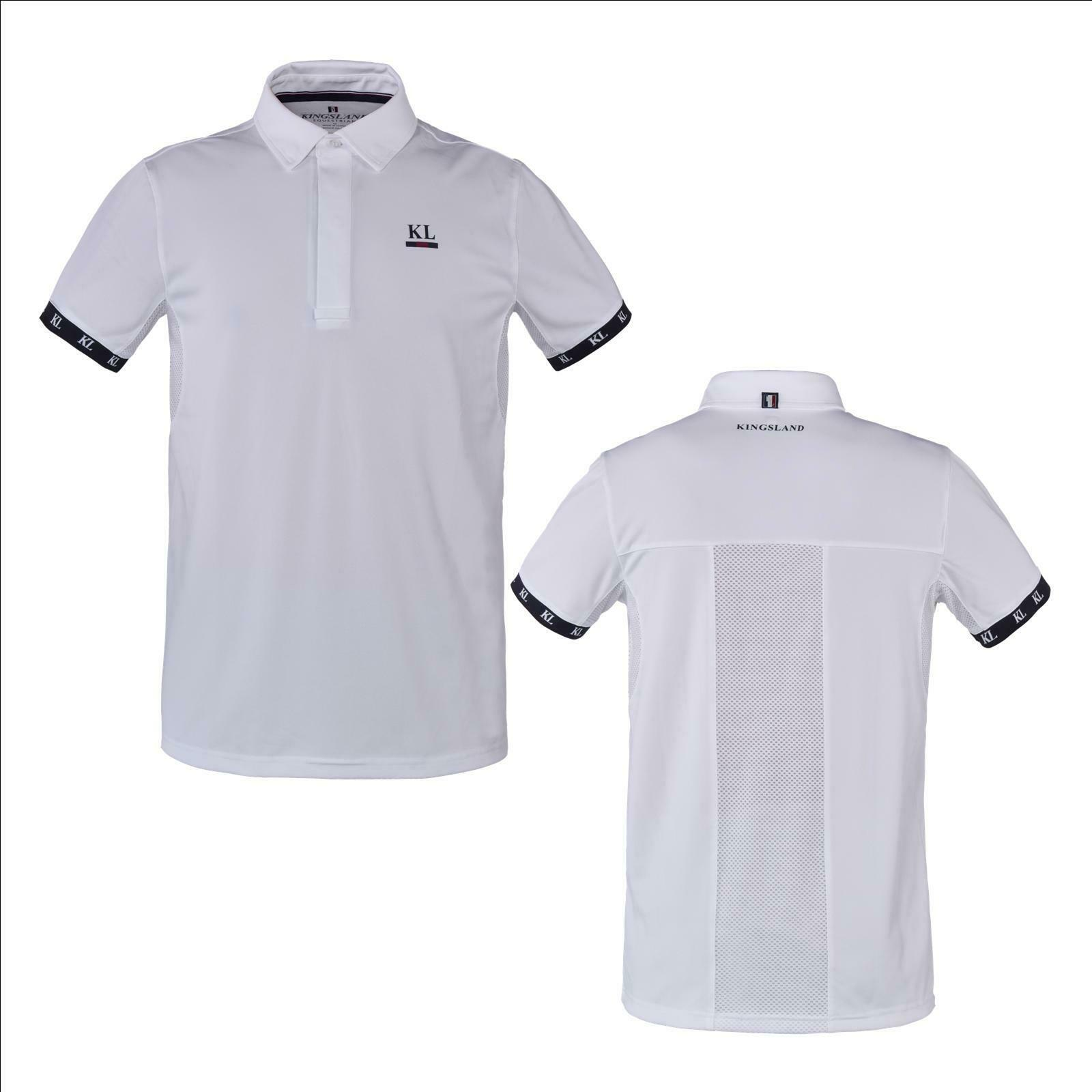 Kingsland a maniche cortetorneo Camicia per Uomo KL _ bornos, show maglietta, torneo...