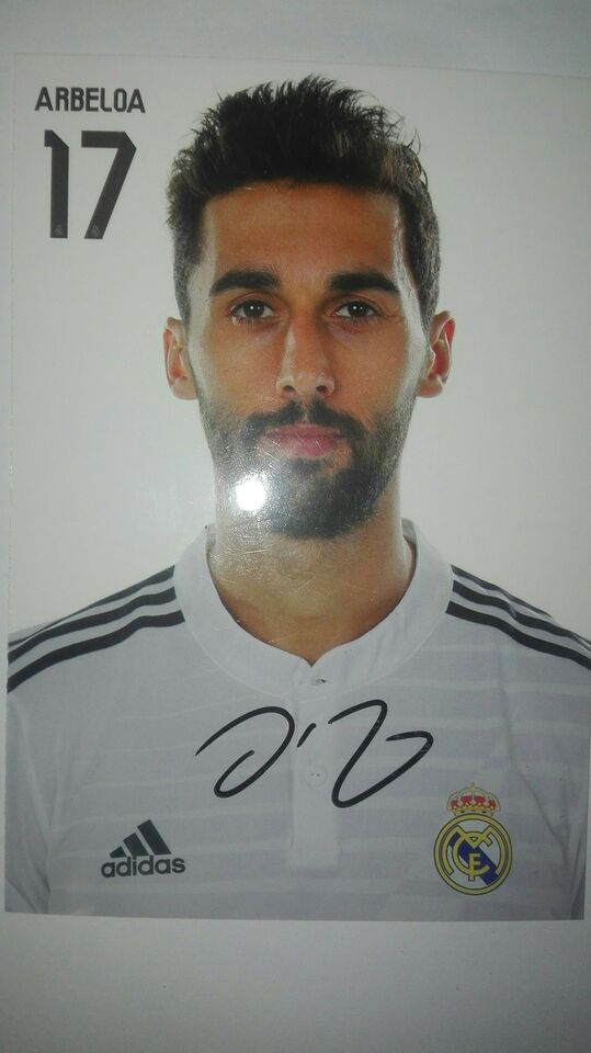 Autografer, Arbeloa autograf real madrid