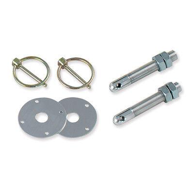 Longacre 52-23500 Aluminum Hood Pin Kit Set of 2 1//2 Inch-20