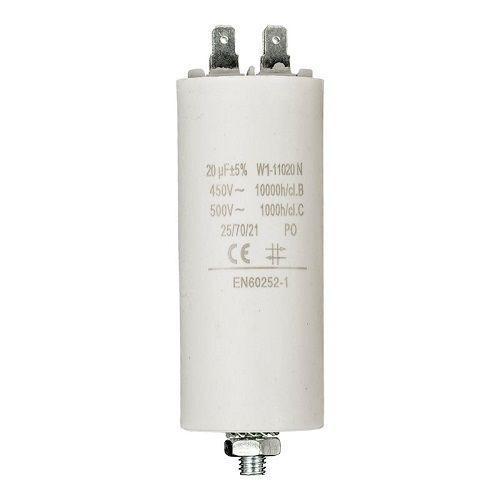 Condensador de arranque para motor electrico 20.0 uF 450 VAC