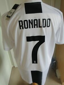 d024409a990 Image is loading RONALDO-JUVENTUS-HOME-SHIRT-2018-19-BNWT-SIZE-