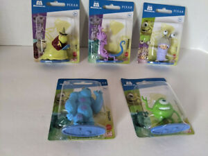 Disney Pixar Monsters, Inc Micro Collection Lot of 5 - NEW!