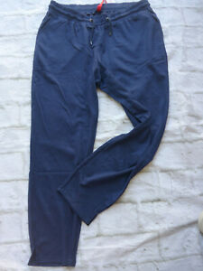 Sheego-Pants-Ladies-Jogging-Trousers-Stretch-Sweat-Size-48-to-52-Blue-094