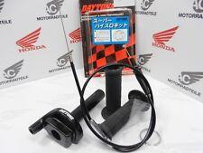 Daytona 1 Zug Alu Racing Gasgriff Set Schwarz, Incl. Gaszug, Alu High Throttle