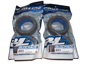PRO-LINE-9046-202-BLOCKADE-S2-Medium-4-0-034-Truggy-1-8-Tires-w-Inserts