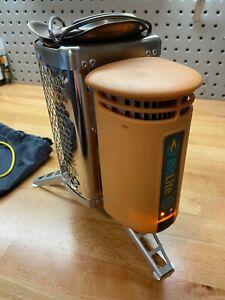 BioLite CampStove Wood Burning & USB Charging Camping Camp Stove Backpacking