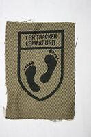 RHODESIA RHODESIAN REGIMENT ARMY TRACKER COMBAT UNIT CLOTH PRINTED BADGE