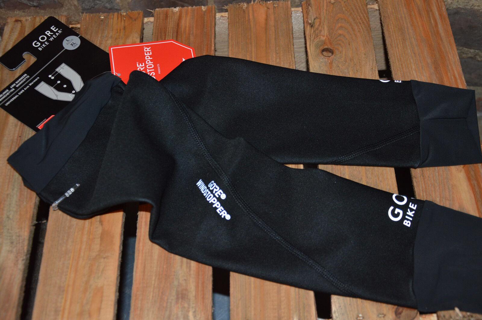 Gore Bike Wear Armlinge Universal Windstopper Armlinge Wear wasserabweisend schwarz 3b616c