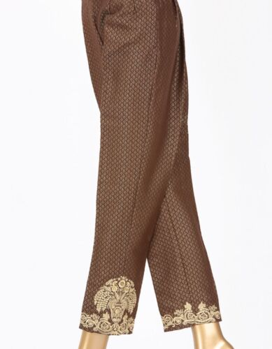 con Pakistani dritto Jamshed marchio Xl originale 100 Junaid Pantalone ricamato 5OCaxxW1