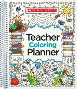 teaching coloring planner by scholastic teaching resources staff