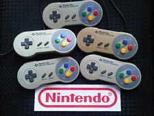 B Grade SNES Super Nintendo FAMICOM - Official Original Controller Pad Gamepad