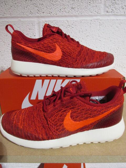 buy online d4c5e d9e97 nike womens rosherun flyknit running trainers 704927 601 sneakers shoes