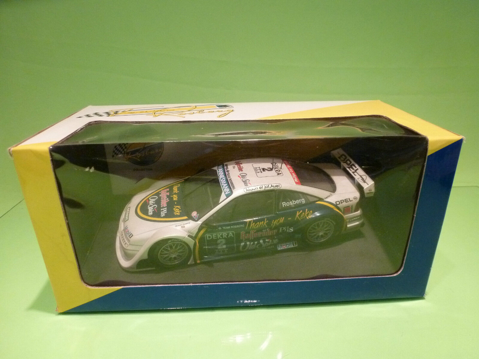 UT MODELS 1 18 OPEL CALIBRA V6 ITC   ROSBERG     - GOOD CONDITION IN BOX
