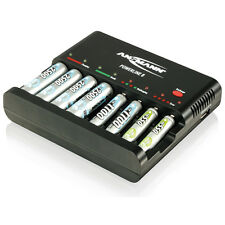 ANSMANN Powerline 8 Battery Charger for 8 batteries AAA, AA, USB, 1001-0006-US