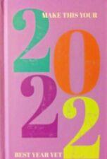 2022 Best Year Day Planner Daily Organizer Calendar Password Log New 6x4 Free Sh