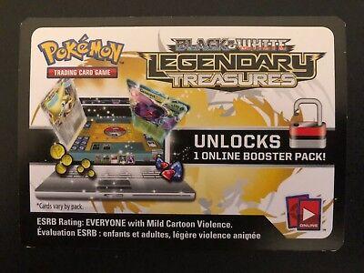 Pokemon BW Legendary Treasures TCG online code card