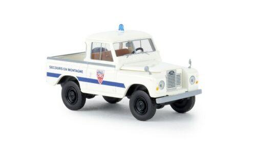 "Brekina 13863-1//87 Land Rover 88 Hardtop /""Police CRS/"" von Starmada Neu"