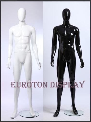 GW3  Eurotondisplay Glanz lackierte abstrakte Schaufensterpuppe Mannequin Mann