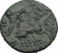 CONSTANTINE I the GREAT Cult  Heaven Horse Chariot Ancient Roman Coin i41666