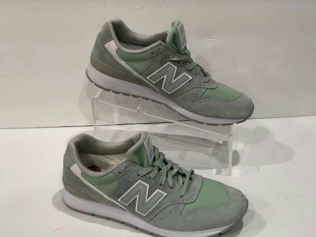 NEW BALANCE MRL996LH SUEDE Grün TURQUOISE MINT TRAINERS