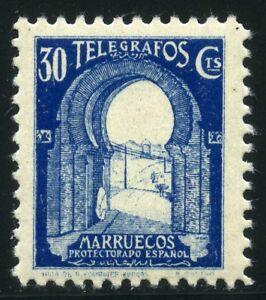 MARRUECOS-TELEGRAFOS-MNH
