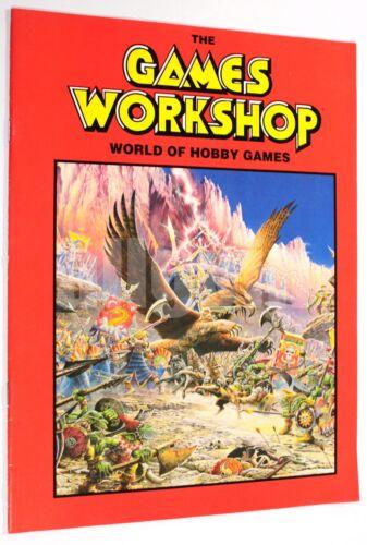 GAMES WORKSHOP WORLD OF HOBBY GAMES 1993 CATALOGUE WARHAMMER 40000 SPACE HULK