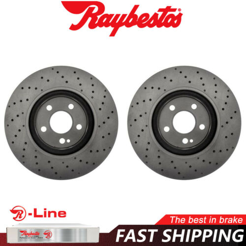 Front Disc Brake Rotors For 2014-2016 Mercedes-Benz CLA250 Raybestos R-Line
