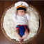 Newborn-Baby-Girl-Boy-Crochet-Knit-Costume-Photo-Photography-Prop-Hats-Outfits miniatura 87