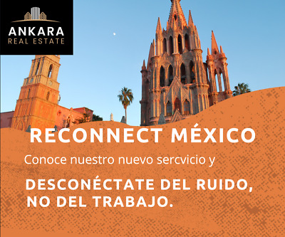 RECONNECT MEXICO, Departamentos amueblados para Homeoffice renta desde 3 meses.