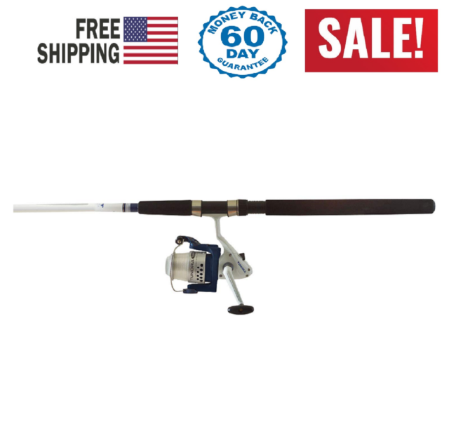 Okuma Fin Chaser Spinning Rod And Reel Combo 10 Foot Blue Finish 739998334834 For Sale Online Ebay