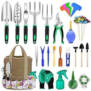 82 Pcs Garden Tools Set Extra Succulent Tools Set Heavy Duty Gardening Tools ...
