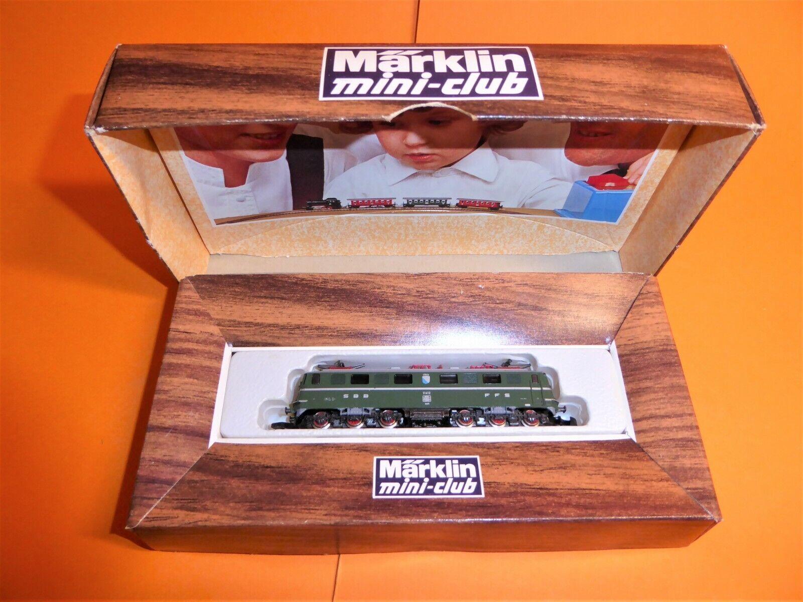 marklin Z 8850 falsi scatola  AE 66 11412 SBB eLok