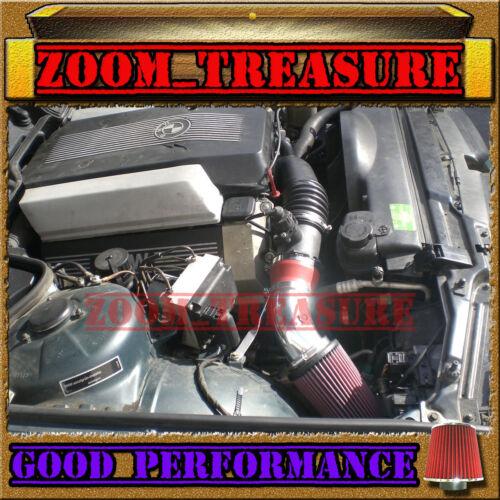 RED 1993-2003//93-03 BMW 540 i 540i M60//M62//E34//E39 AIR INTAKE KIT