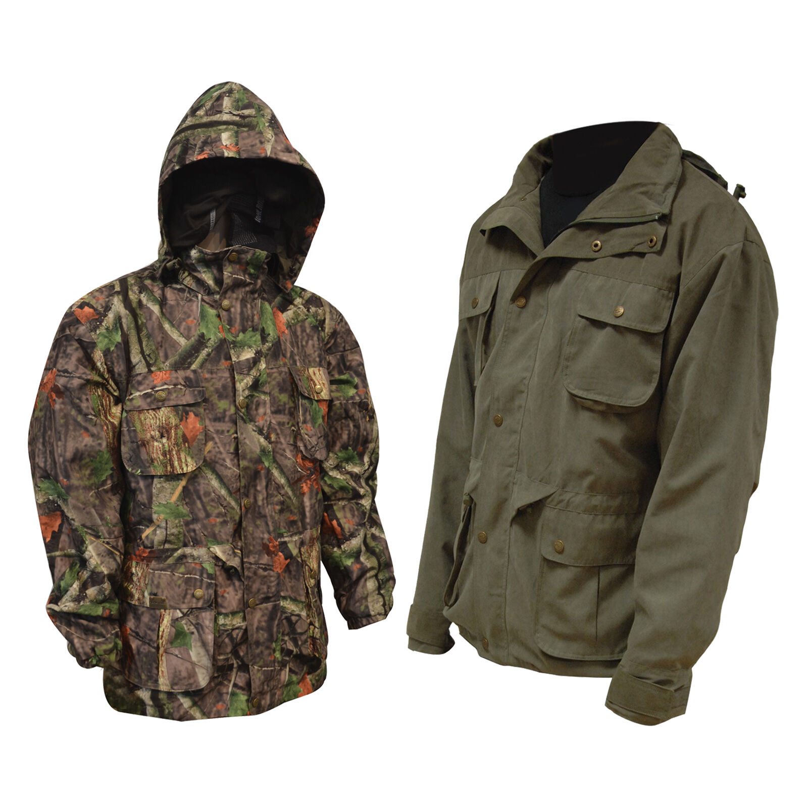 Rexmoor Veste Arbre Profond Camouflage Grün Olive Ab-Tex Respirable Chasse