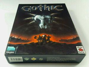 GOTHIC-PC-Big-Box-Spiel-OVP-CIB-Deutsche-Ver-Piranha-Bytes-sgZ-VGC-Complete