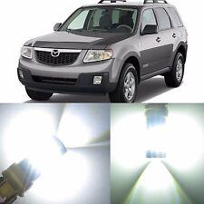 Alla Lighting Turn Signal Brake Light 3157 3156 White LED Bulb for Mazda Tribute